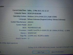 Lenovo G410 Core i5 420 Second