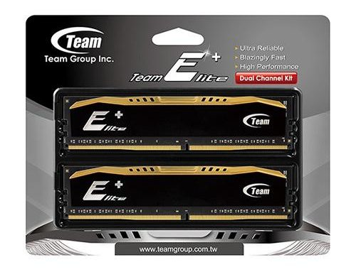 Memory RAM Team Elite Plus DDR3 PC12800 1600Mhz (2GBx2)