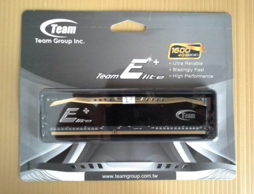 RAM Memory Team Elite Plus DDR3 PC15000 1866Mhz 4GB