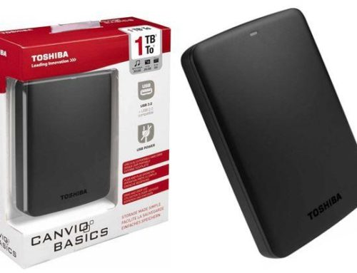 HDD/HARDISK EKSTERNAL TOSHIBA 1TB CANVIO BASIC