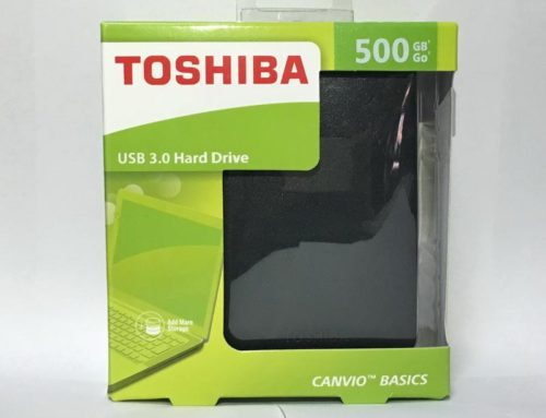 HDD/Hardisk Eksternal Toshiba 500GB Canvio Basic