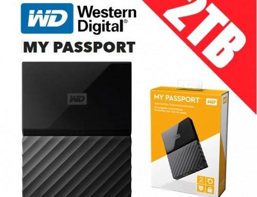 Hardisk Eksternal 2TB WD (Western Digital) PASSPORT ULTRA