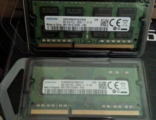 RAM Laptop/Netbook Branded Original 4GB DDR3