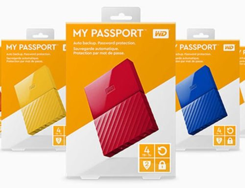 Jual Original Hardisk Eksternal WD PASSPORT ULTRA 4TB