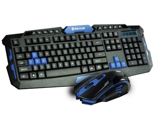 Keyboard + Mouse Gaming Wireless Rexus Warfaction VR2