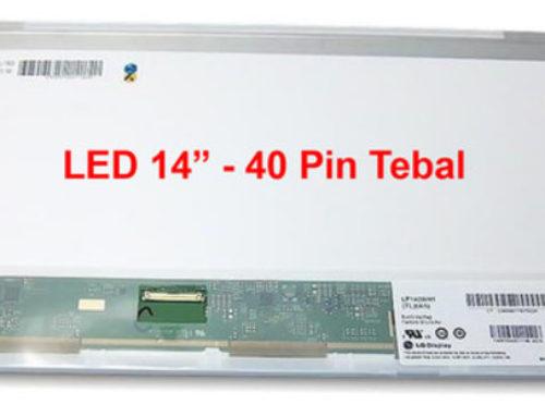 LCD LED Laptop 14 Inch Berkualitas