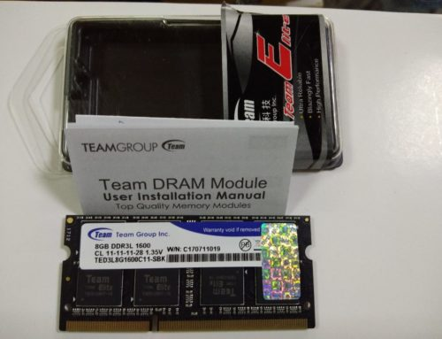 Team Elite So-Dimm DDR3L PC12800 8GB Original