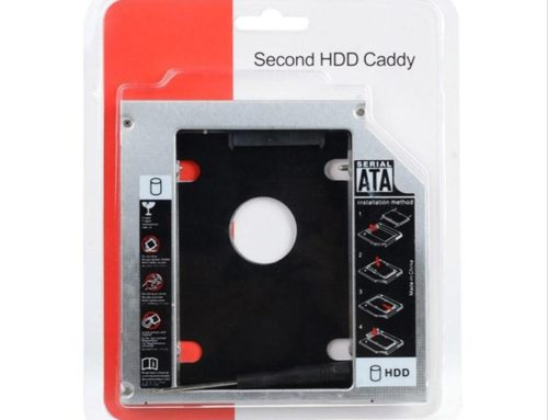 Harddisk Caddy Slim Case 12.7mm & 9.5mm SSD/HDD Sata Slim