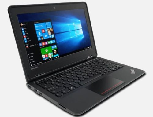 Lenovo Thinkpad 11e Touch Screen & SSD Technology